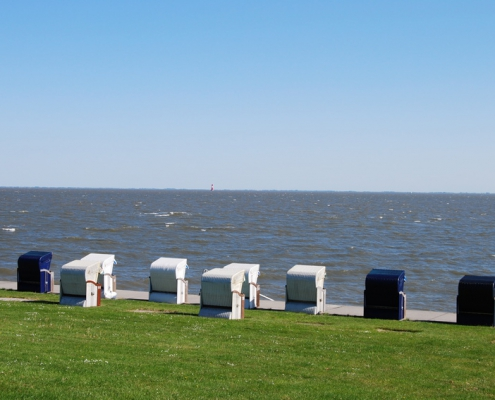 Strandkörbe Südstrand Wilhelmshaven