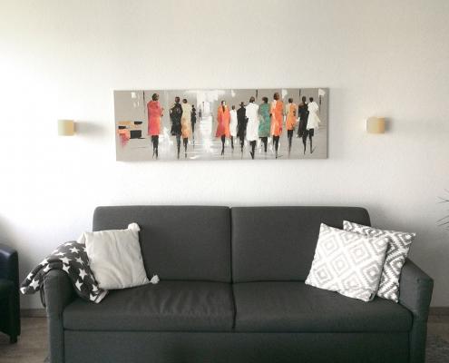 Wohnzimmer Ferienwohnung Wilhelmshaven